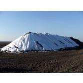 Toptex blanc à la  Découpe 110g/m² largeur 4.9m